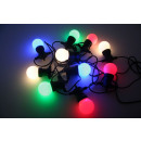 Led light string 10 dlg 7.5 meters ip44 multicolor