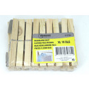 wholesale Household Goods: Clothes pegs wooden xl 18 pieces