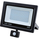 Led floodlight flat 100 watt smd + sensor