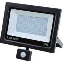 LED Flutlicht flach 100 Watt SMD + Sensor