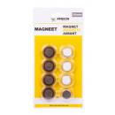 Magnet 8 pieces round 3 cm