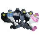 wholesale Shoes: Cap sherpa amsterdam mix color (a)