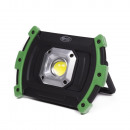 Led work lamp cob 10w 2200mah rechargable
