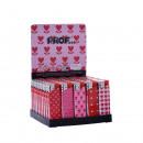Prof pink hearts electronic Mechero dl50