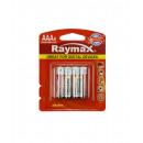 Battery raymax aaa mini penlite lr03 4 pieces alk.