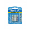 Battery raymax aaa mini penlite r03 4 pieces zinc