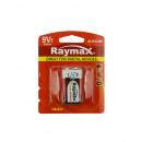 Battery raymax 9v 6lr61 alkaline