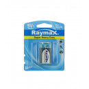 Battery raymax 9v 6f22p zinc