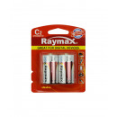 Battery raymax c/lr14 2piece alkaline