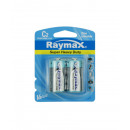 Battery raymax c/r14p 2piece zinc