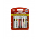 Battery raymax d/lr20 2piece alkaline