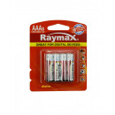 Battery raymax aaa mini penlite lr03 8 pieces alk.