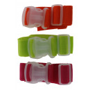 wholesale Travel Accessories: Luggage strap mix color transparent clip