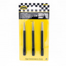 Nail punch set 100 mm 3 pieces