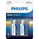 Philips ultra Alkaline LR14 c BL2