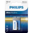 Philips ultra Alkaline 6lrl1 9V bl1