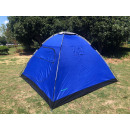 Tent dome 4 pers 600d canvas 240 x 210 x 130