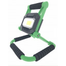 Led work light 10w cob rechargeable 2200mah