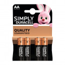 Duracell aa 4 pack simplement