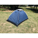 Tent dome 2 pers 600d canvas 220 x 130 x 110