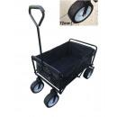 Barnvagnens extra breda fällbara hjul