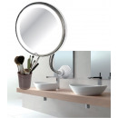 Mirror make-up 18 led with suction cup white