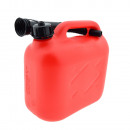 Jerrycan 5l rouge robuste 500 grammes +