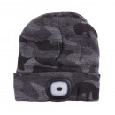 Cap with led camouflage