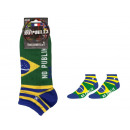 Herren kurze Socken, Weltmeisterschaft - Brasilien