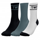 set of 3 socks man, twd khaki / gray
