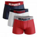 ensemble de 3 boxer short homme, trend cascade rou
