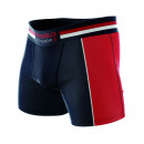 boxer shorts man, sportwear navy / red