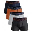 groothandel Rugzakken: set van 4 heren boxershorts, casual pack
