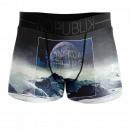 boxer shorts man, spiritual feeling