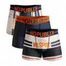 ensemble de 3 boxer short homme, california sport