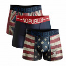 set of 3 boxer shorts man, usa & uk