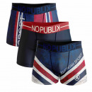 set of 3 boxer shorts man, american sport