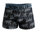 boxer shorts man, black tiger