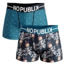 Set mit 2 Herren-Boxershorts, tropisch # 1