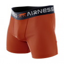 Boxershorts Mann, schlicht orange