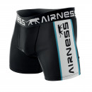 boxer shorts man, black / white duo
