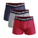 groothandel Rugzakken: set van 3 heren boxershorts, casual pack