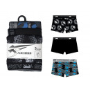 set of 3 boxer shorts man, 2 dsp + 1 uni noi