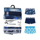 set of 3 boxer shorts man, 2 dsp + 1 uni ble