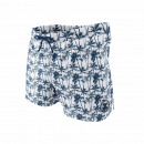 short de bain homme, palm graph