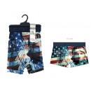 boxer shorts man, american spirit