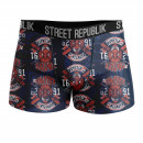 ensemble de 3 boxer short homme, lot de 3 motifs m
