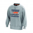 Men's sweatshirt, gray feather