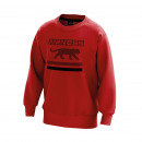Men's sweatshirt, collar 0 red campus