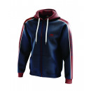 wholesale Coats & Jackets: men's jacket, ring color marine / red